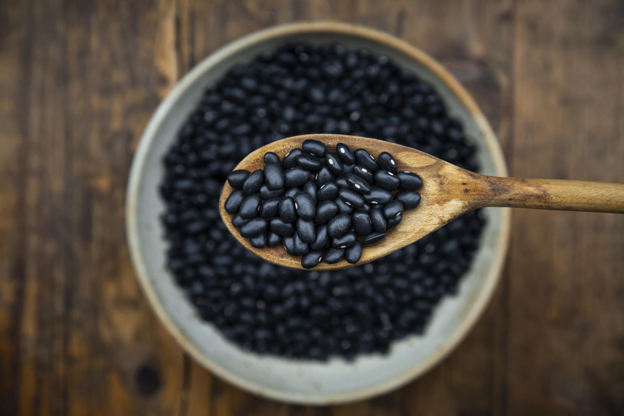Black beans.
