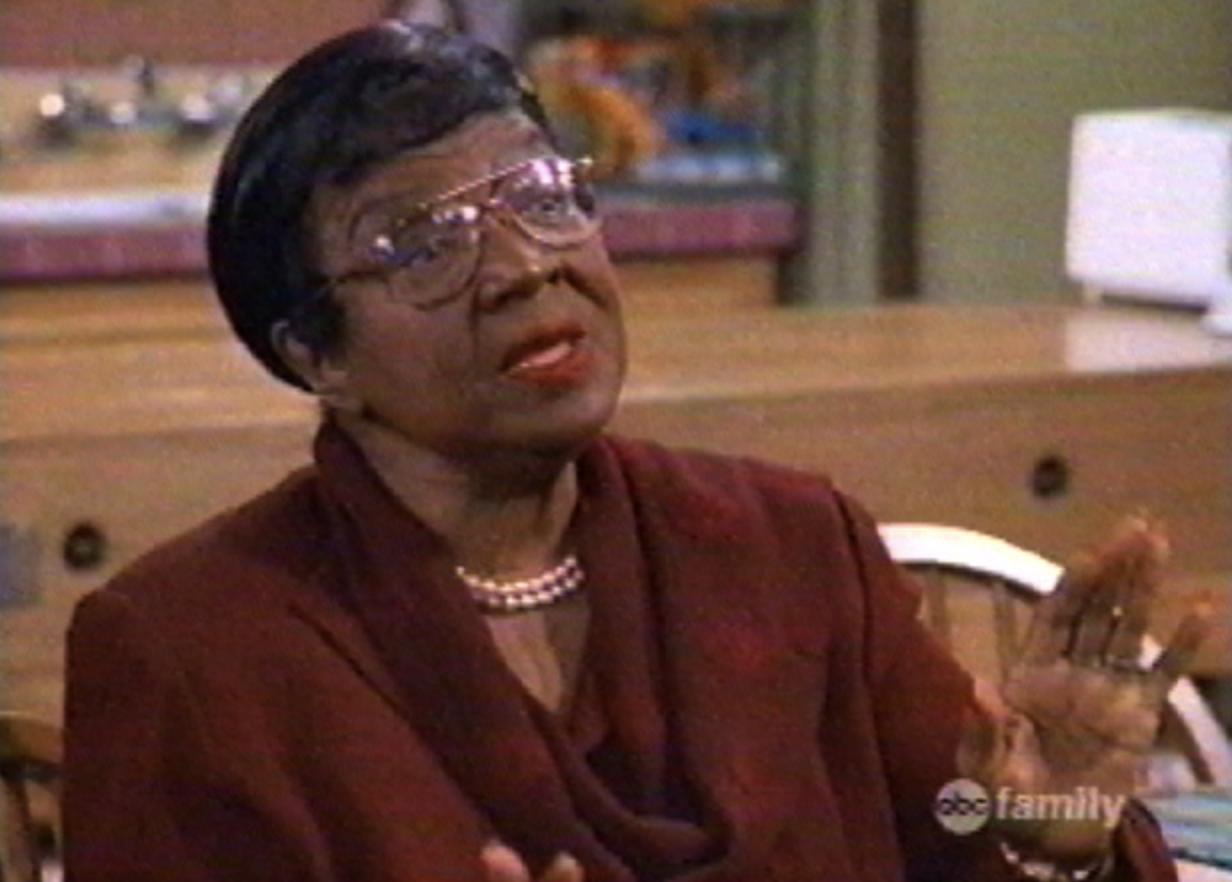 """Grandma Estelle in """"Family Matters"""""""