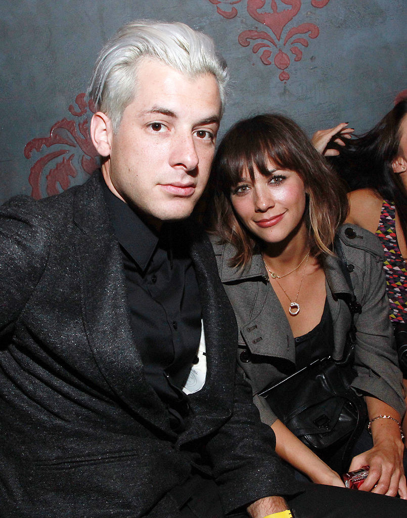Mark Ronson and Rashida Jones attend the Charlotte Ronson Spring 2011 after party, 2010