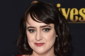 Mara Wilson at the premiere of Knives Out in 2019
