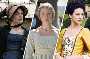 Jane Austen, Elizabeth Woodville, and Claire Fraser