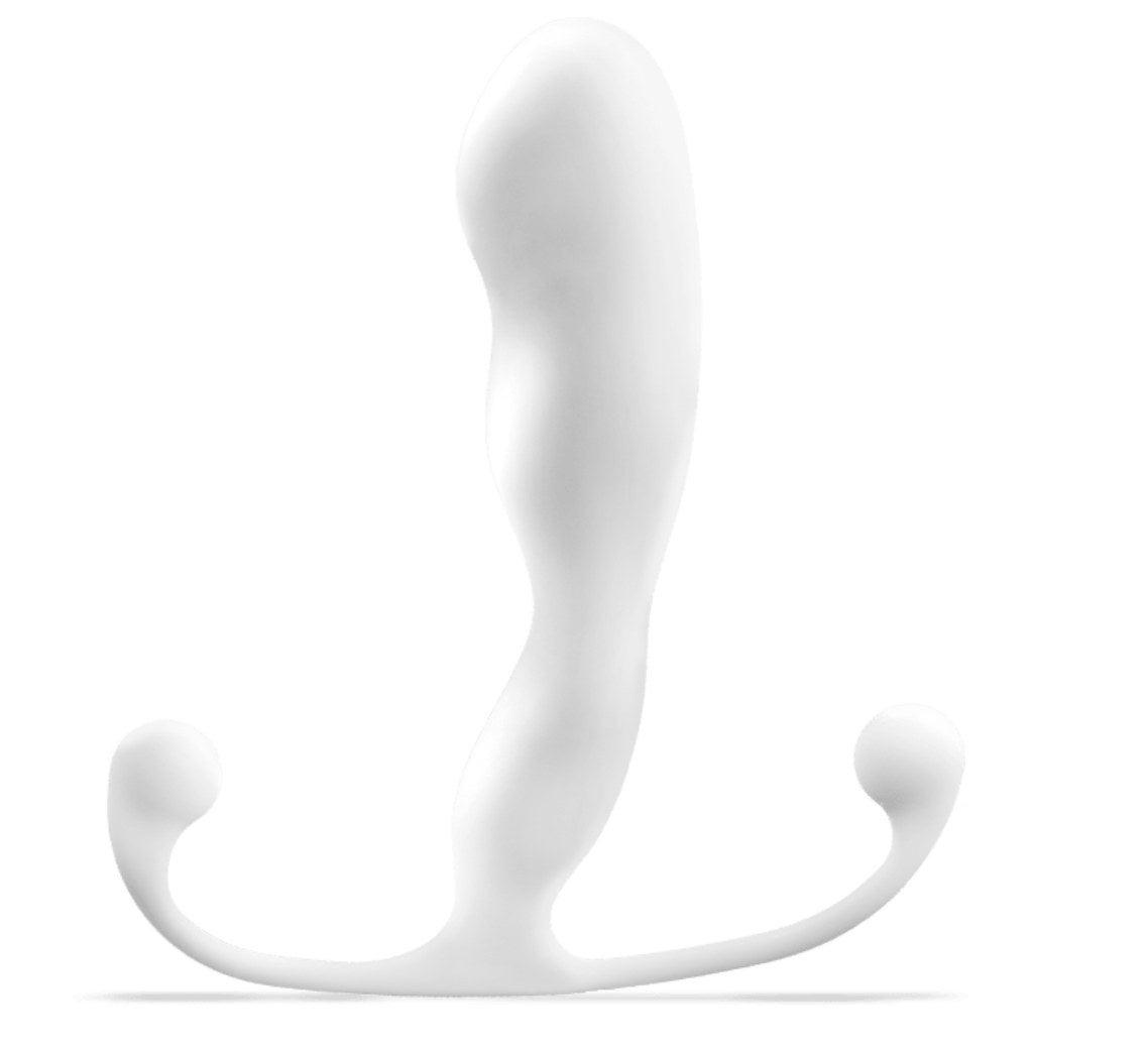 A white male prostate stimulator