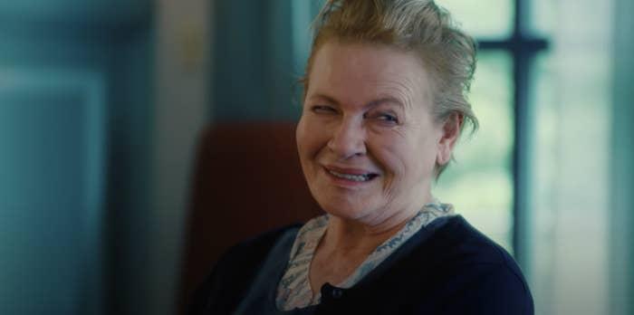 "Dianne Wiest in the ""I Care a Lot"" movie trailer"