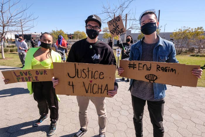 Asian American Protesters