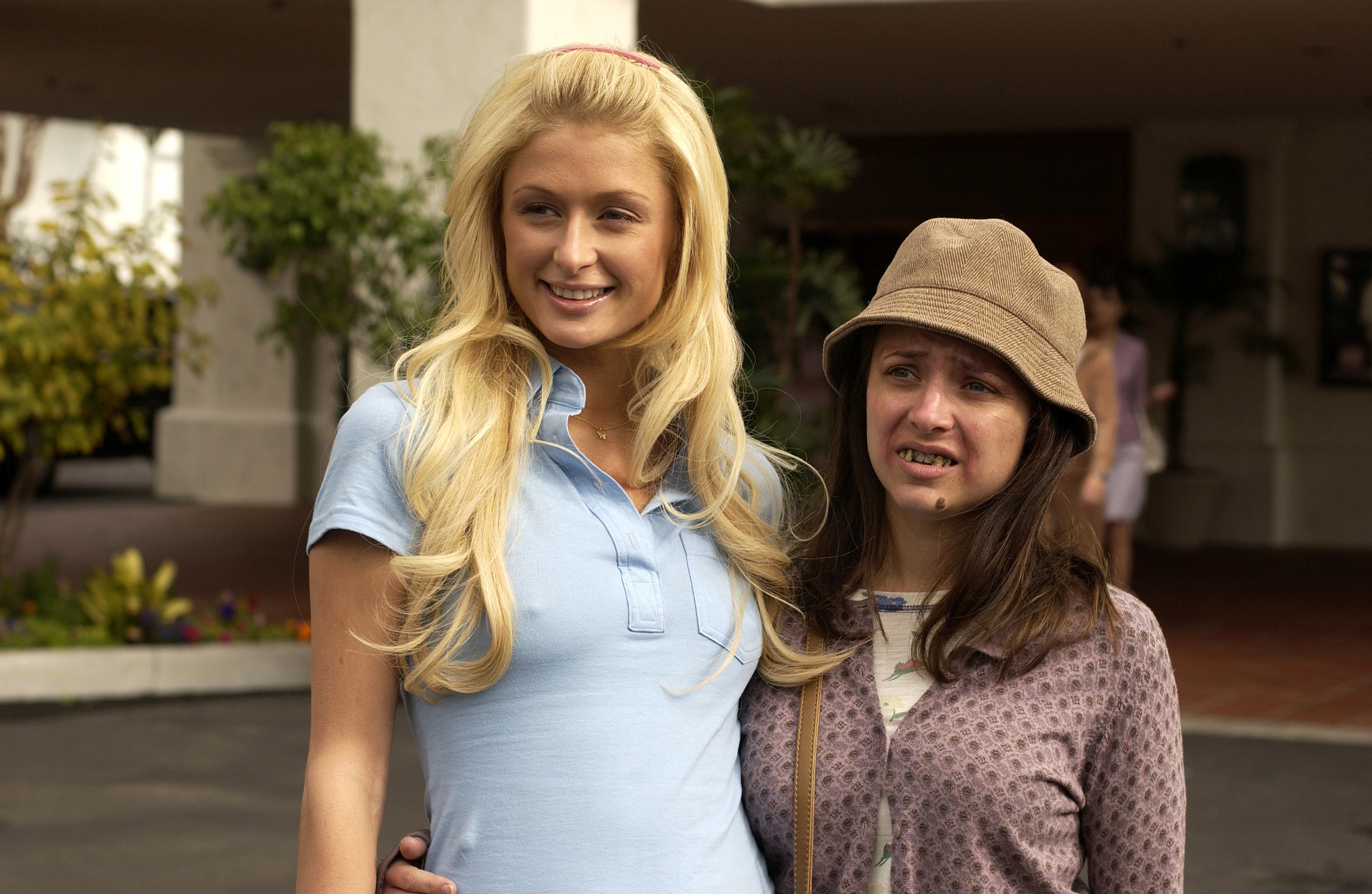 "Paris Hilton and Christine Lakin in ""The Hottie and the Nottie"""