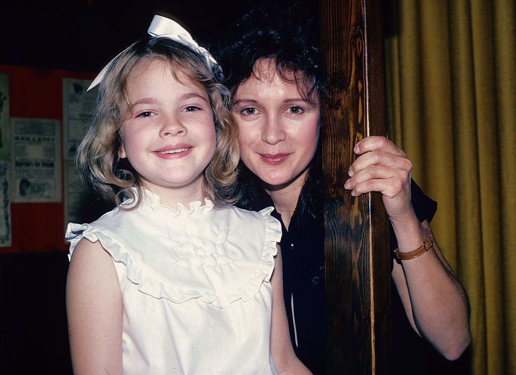 Drew as a toddler with her mother