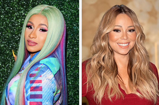 www.buzzfeed.com: Cardi B Told Mariah Carey She Used To Be Insecure About Her Hair And Her