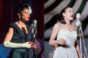 Andra Day plays Billie Holiday
