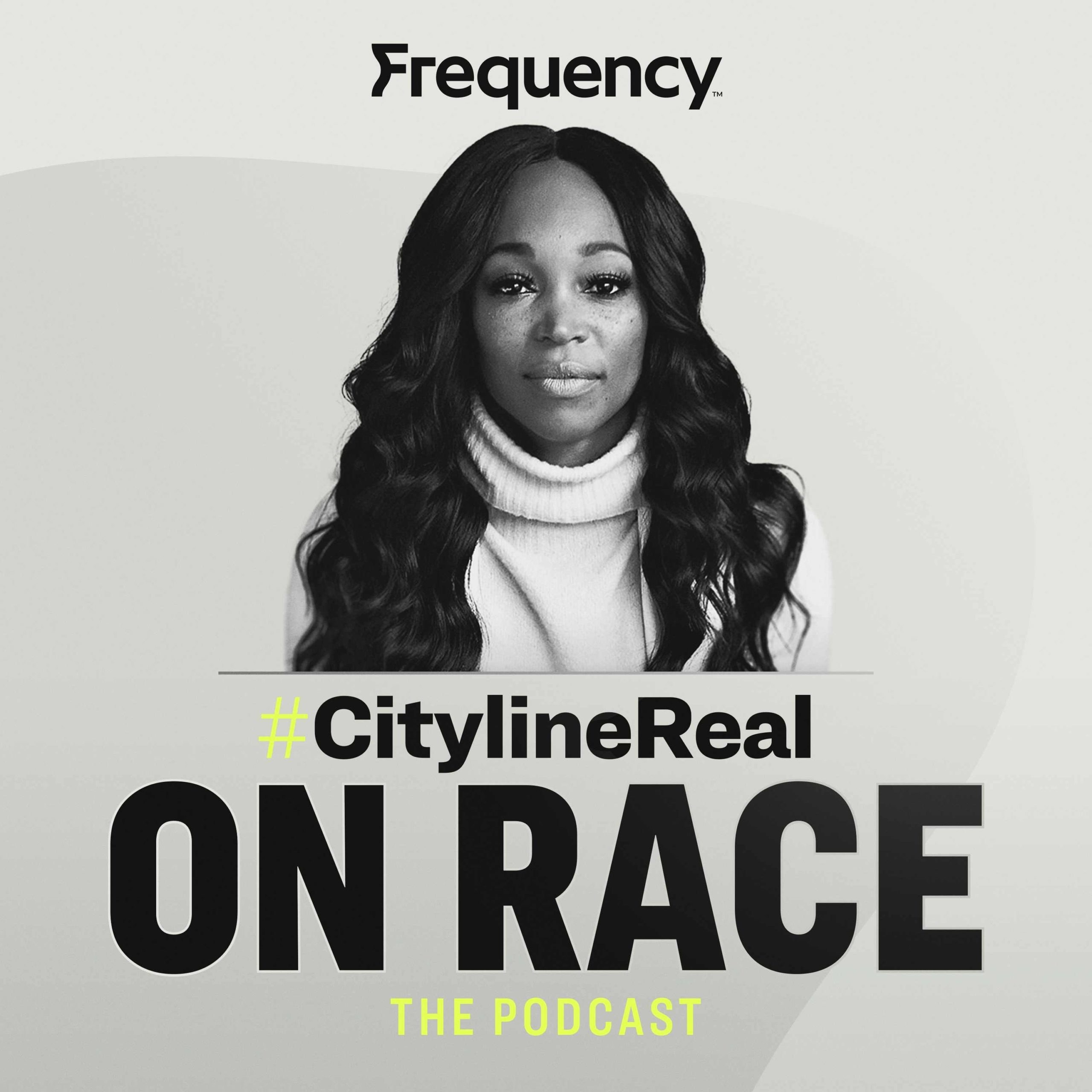 A picture of Tracy Moore with the title Cityline Real on Race