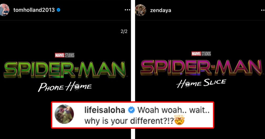 www.buzzfeed.com: Tom Holland, Zendaya And Jacob Batalon Are Really Out Here Trolling Fans With The Title Of