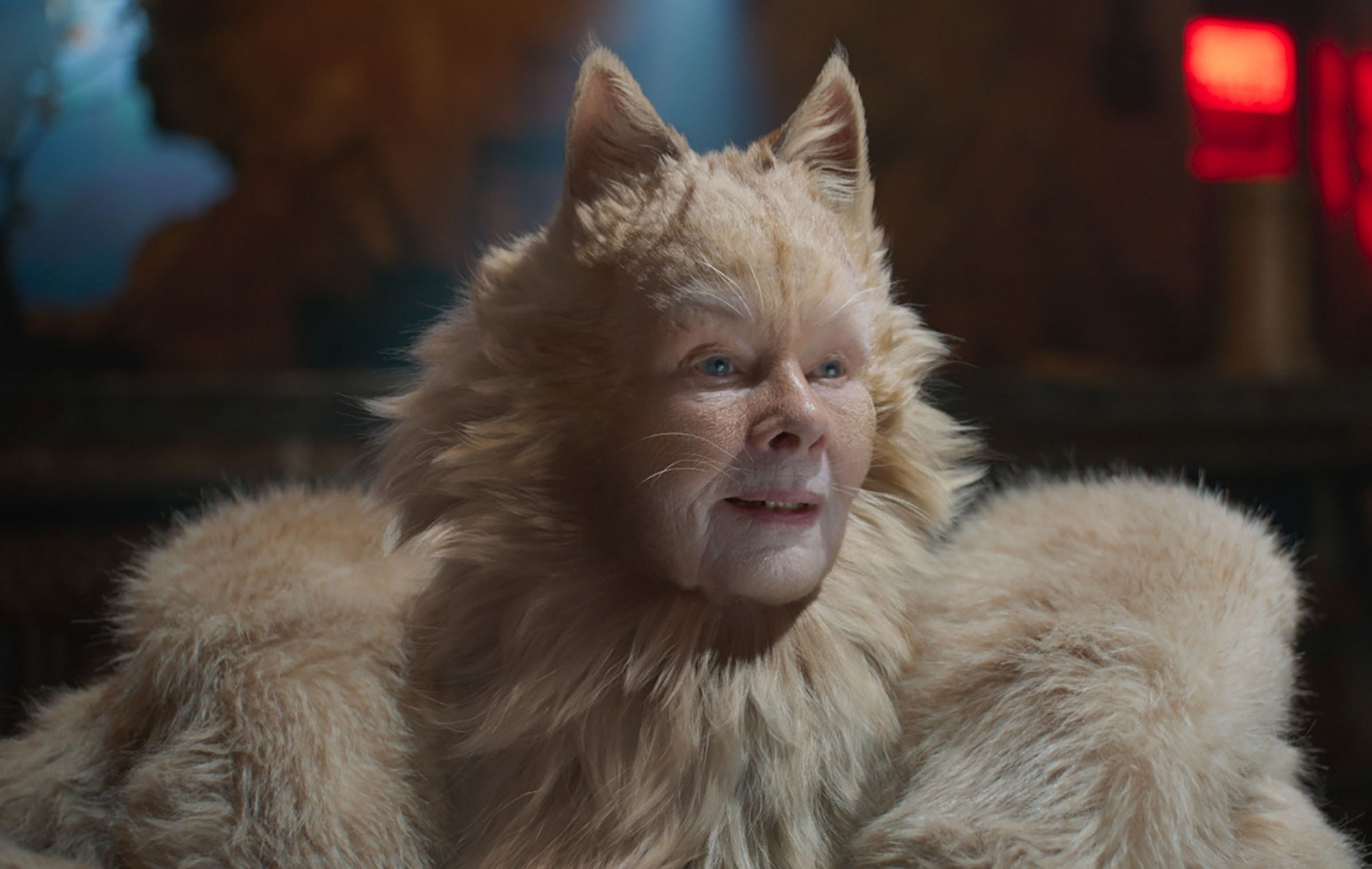 "Judi Dench as Old Deuteronomy in ""Cats"""