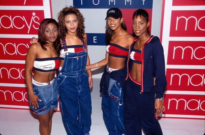Destiny's Child promoting Tommy Hilfiger Jeans at Macy's