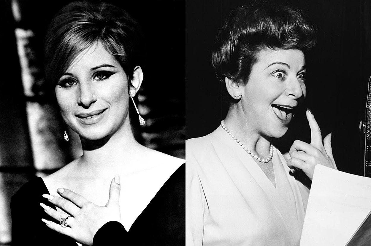 young Barbara looks exactly like Fanny Brice