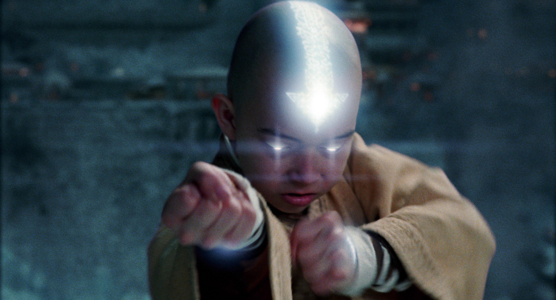 """Noah Ringer as Aang in """"The Last Airbender"""""""