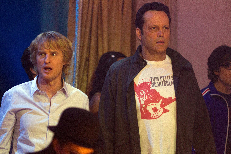 "A shocked Owen Wilson and Vince Vaughn in ""The Internship"""
