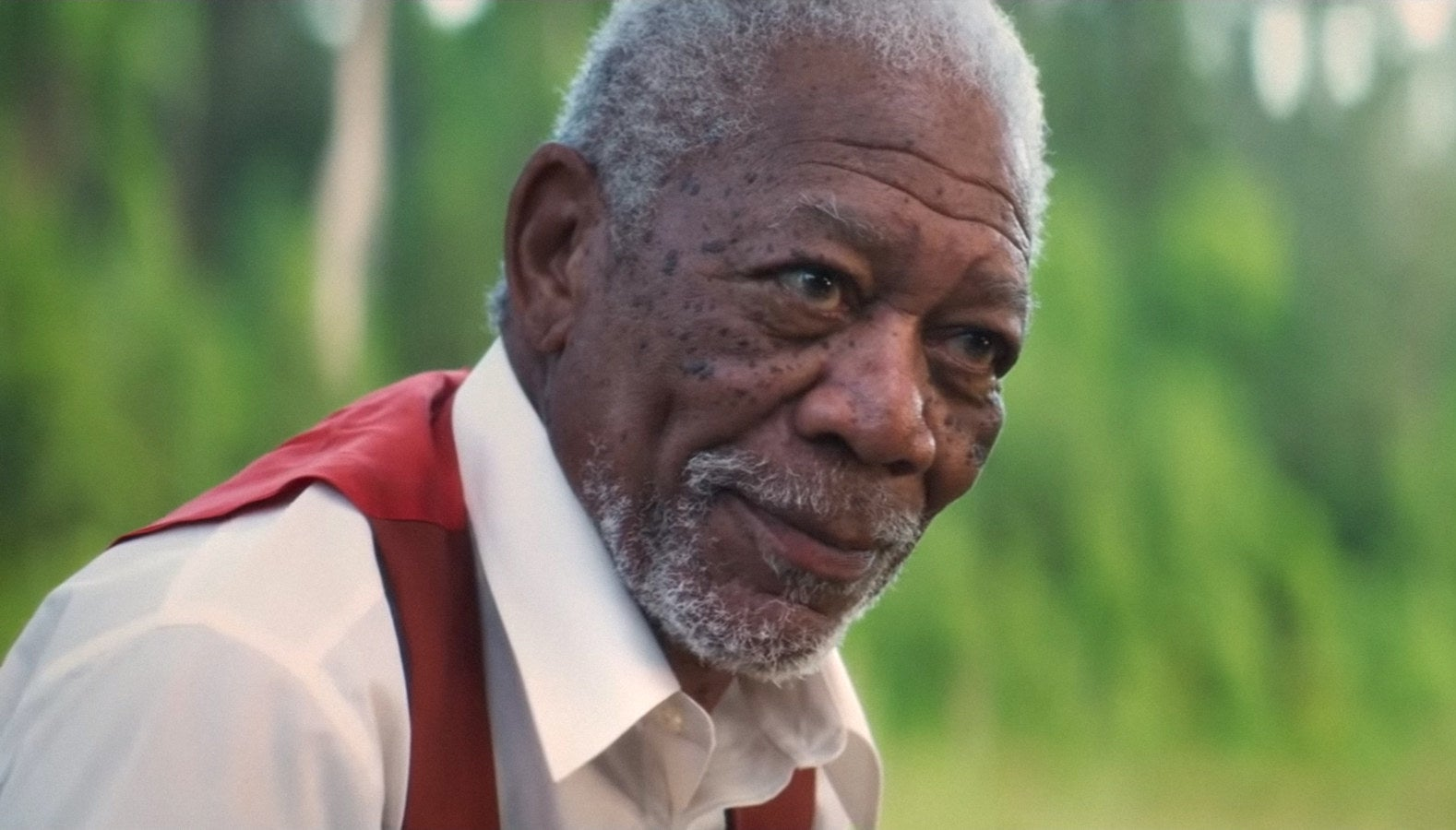 "Morgan Freeman in ""The Poison Rose"""