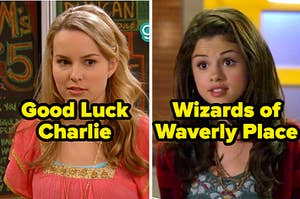 Good Luck Charlie and Wizards of Waverly Place