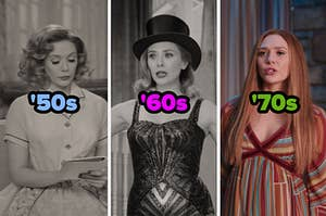 Wanda in the '50s, '60s, and '70s