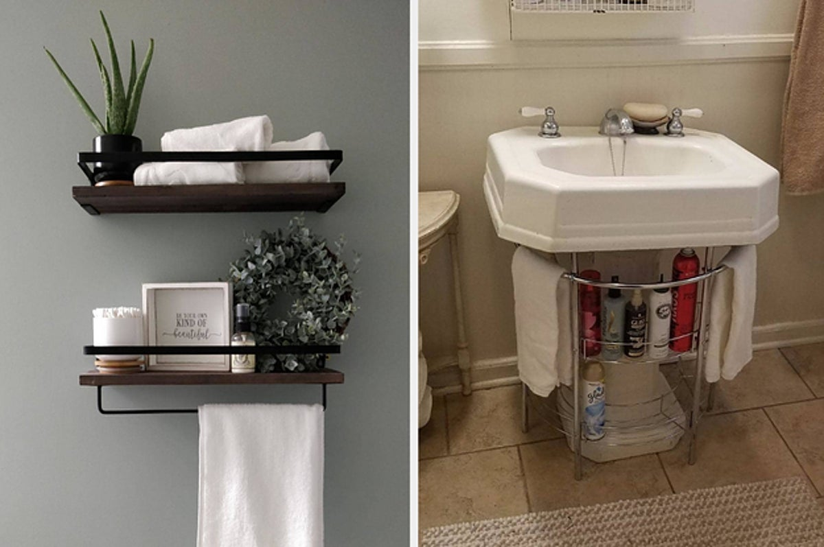 25 Bathroom Storage Ideas That Are Incredibly Clever