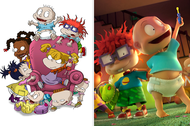 """OMG, """"Rugrats"""" Is Getting A Reboot And Here Is Our First Look At It"""