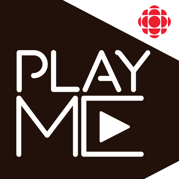 Cover art of CBC's podcast that says PlayME in large letters