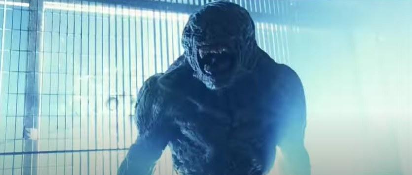 Mutated monster screaming