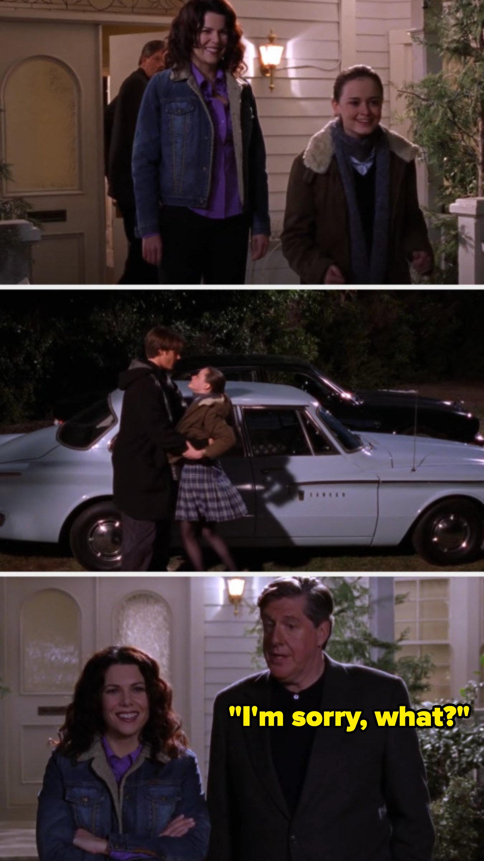 Dean builds Rory a car