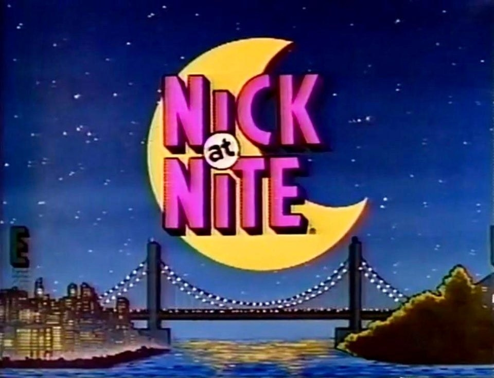 "The old ""Nick At Nite"" title screen"