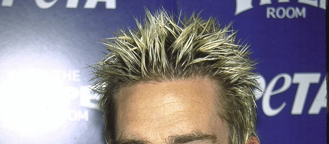 Mark McGrath's frosted tips