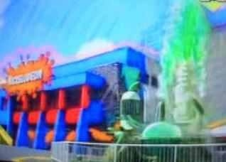 Universal Studios Florida complete with the slime fountain