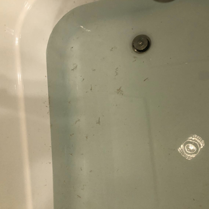 review photo of dirty bath water