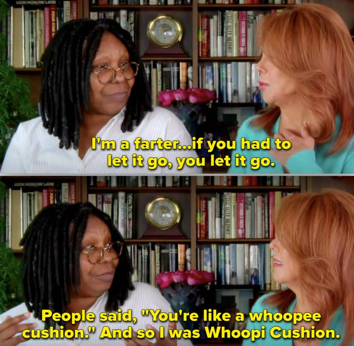 Whoopi in an interview