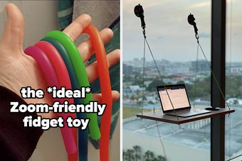 fidget toy and window desk