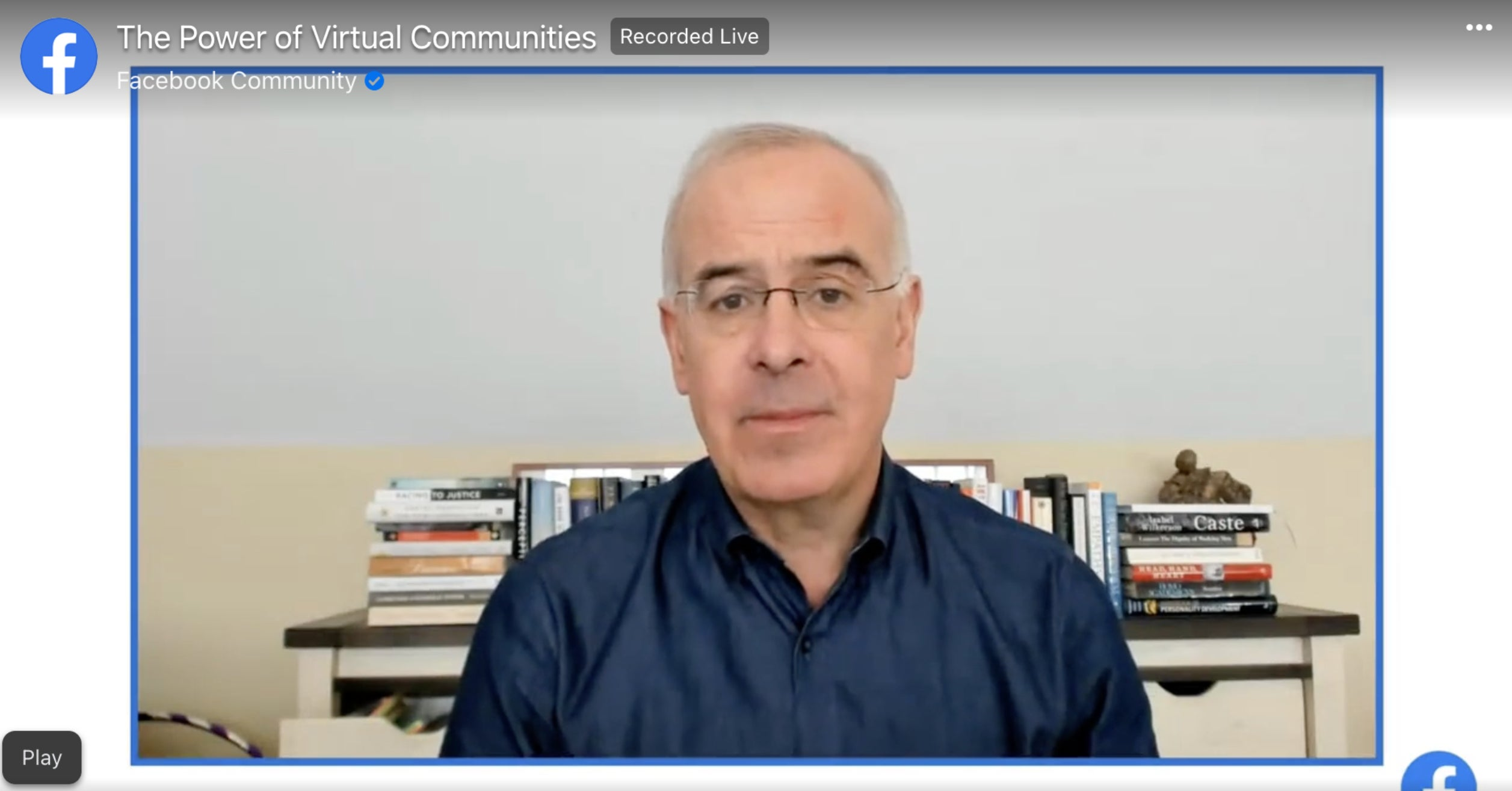 NYT Columnist David Brooks Blogged For Facebook's Corporate Site