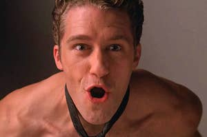 """Willl Schuester from """"Glee"""" performing """"Touch-a-Touch-a-Touch-a-Touch Me"""""""