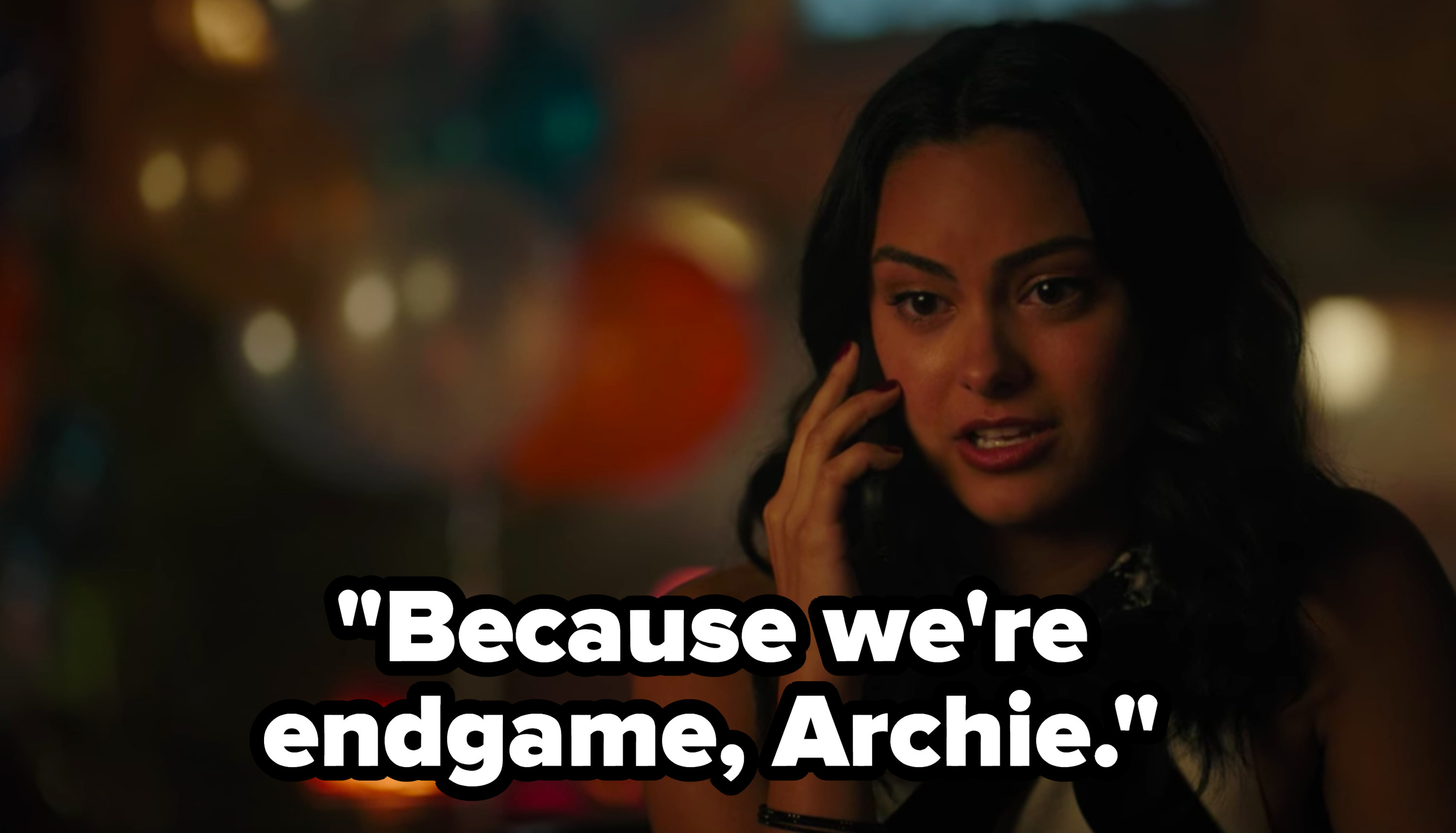 """Veronica says she and Archie are """"endgame"""""""