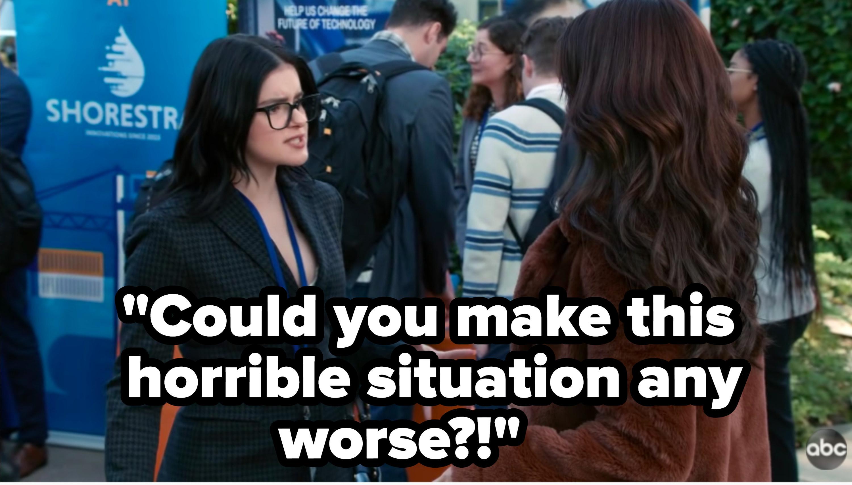 Alex argues with Haley