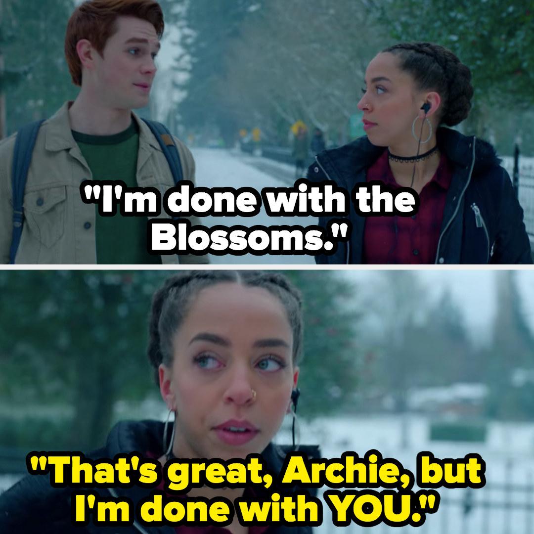 Valerie dumps Archie