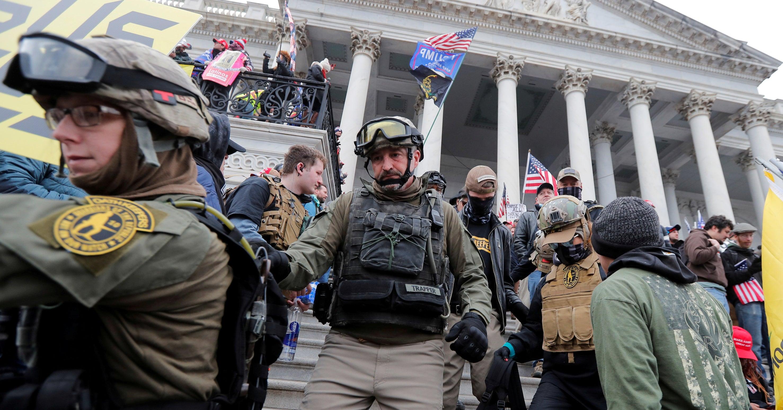 Prosecutors Suggest Oath Keepers Had Armed Reinforcements