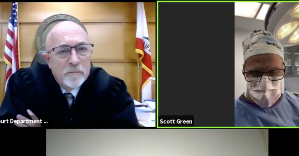So, Uh, A Plastic Surgeon Logged Into Traffic Court Via Zoom While Operating On A Patient