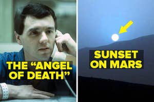 The Angel of Death, aka Donald Harvey, and a sunset on Mars