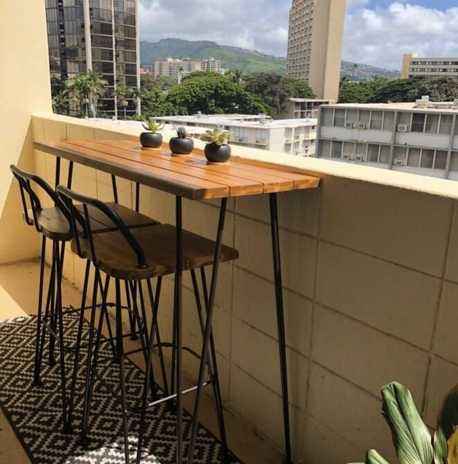 Review photo of the outdoor bar set