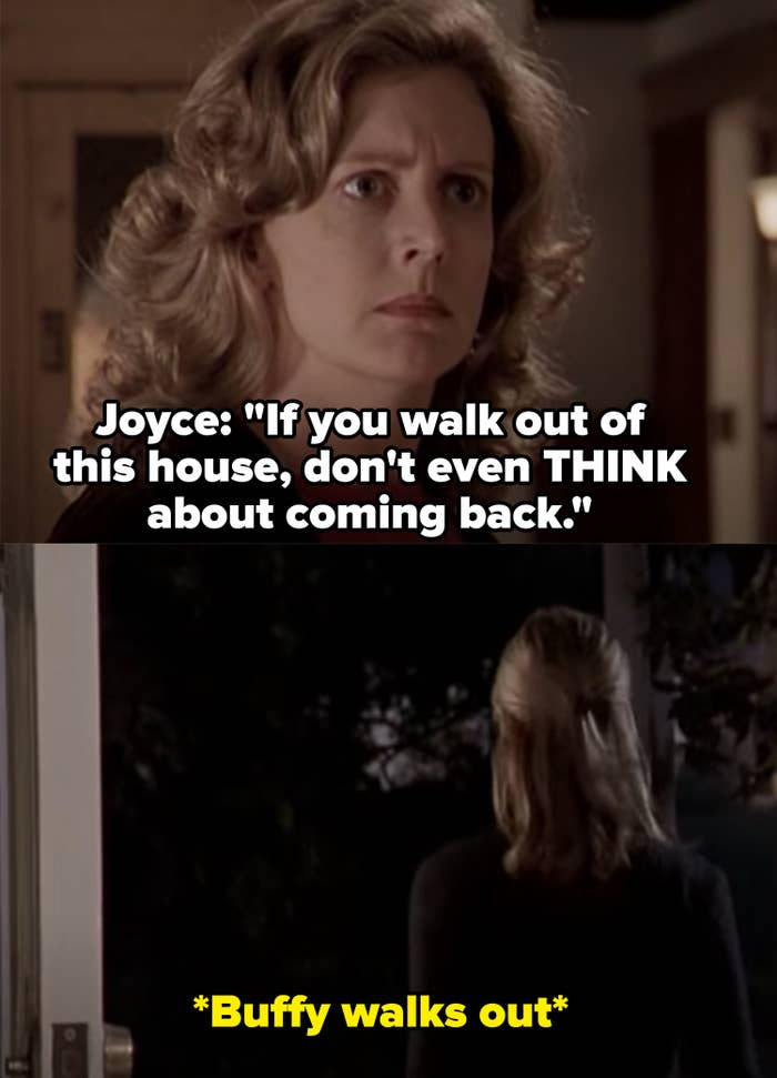 """Joyce: """"If you walk out of this house don't even think about coming back"""""""