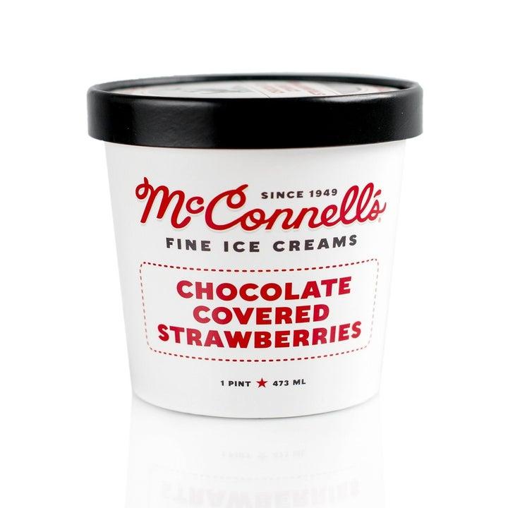 The pint of ice cream