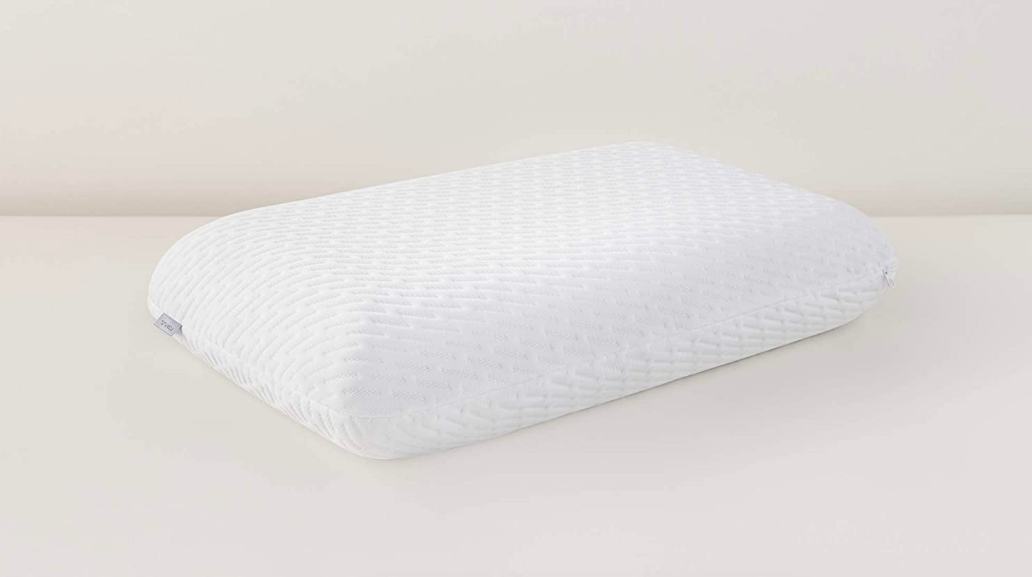 White pillow on a table