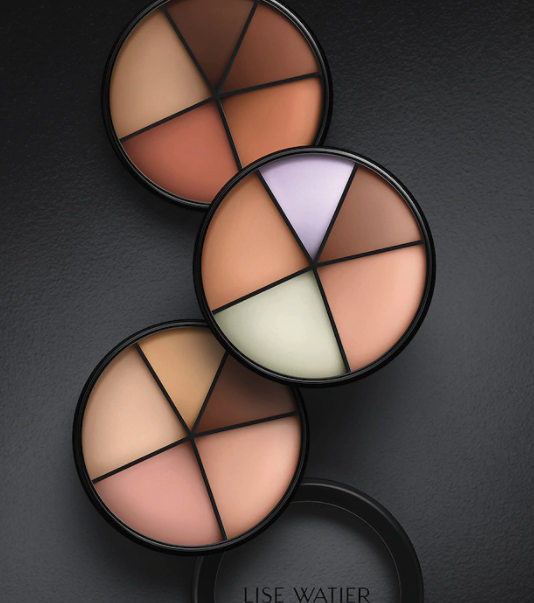The concealer palettes that come with five different shades for customization