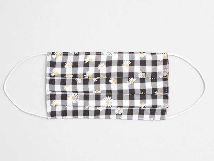 The mask in gingham