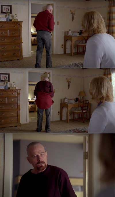 Bryan Cranston as Walter White in Breaking Bad