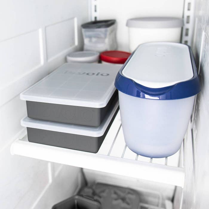 The ice cube maker