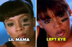 Lil Mama as Left Eye in